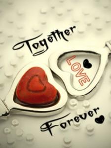hinh nen dien thoai love forever
