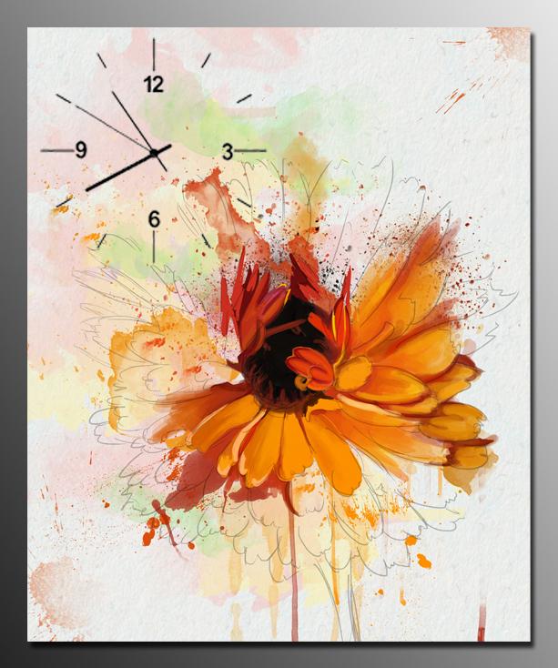 tranh dong ho hoa cuc dai dep