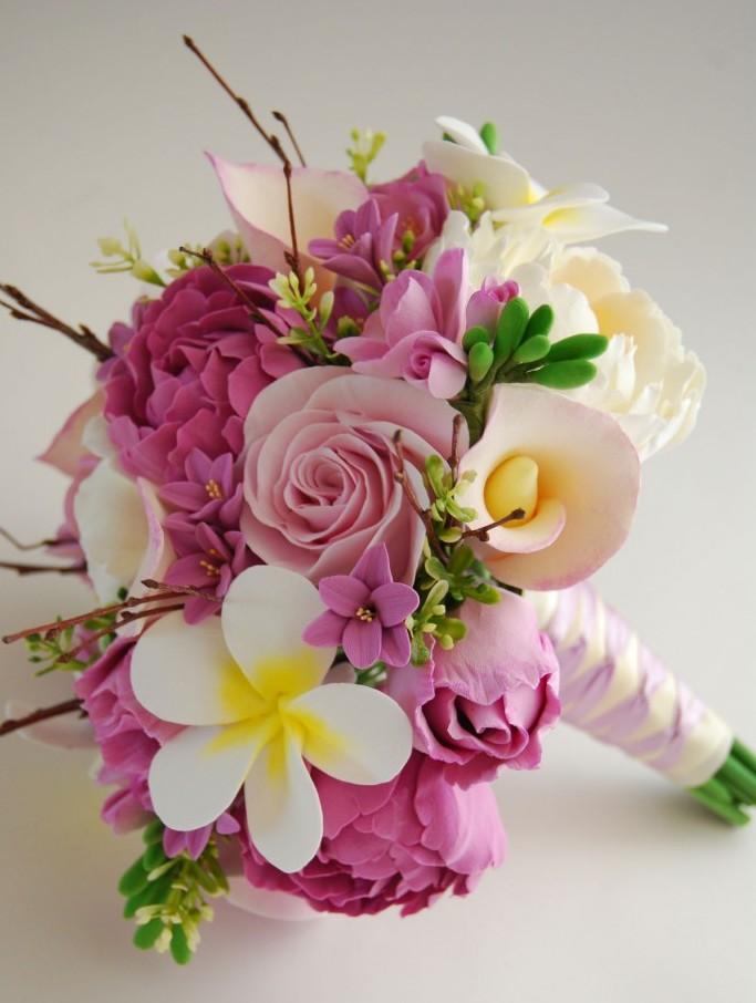 mau hoa cuoi cam tay 86534623