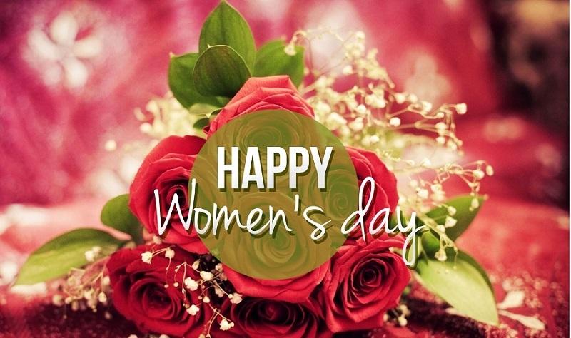 Hoa mừng ngày quốc tế phụ nữ long lanh rực rỡ