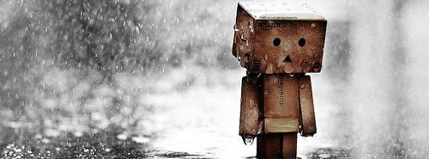Cô đơn dưới mưa