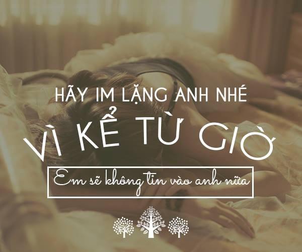 status tinh yeu buon