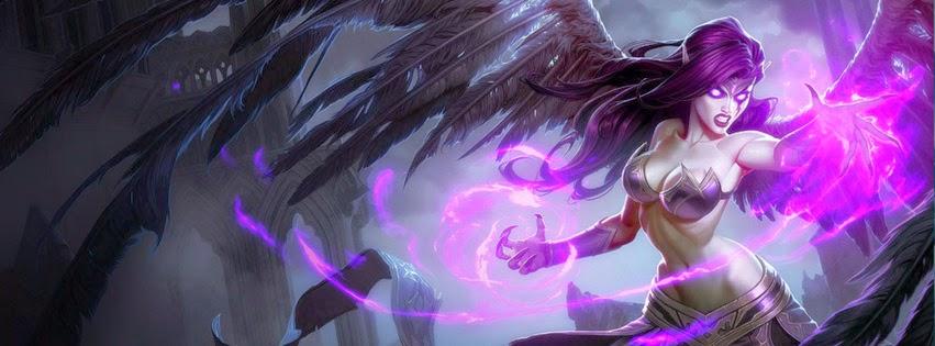 Ảnh bìa LMHT tướng Morgana