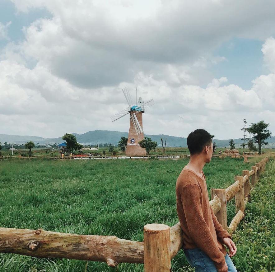 Trải nghiệm khung cảnh trang trại tươi xanh