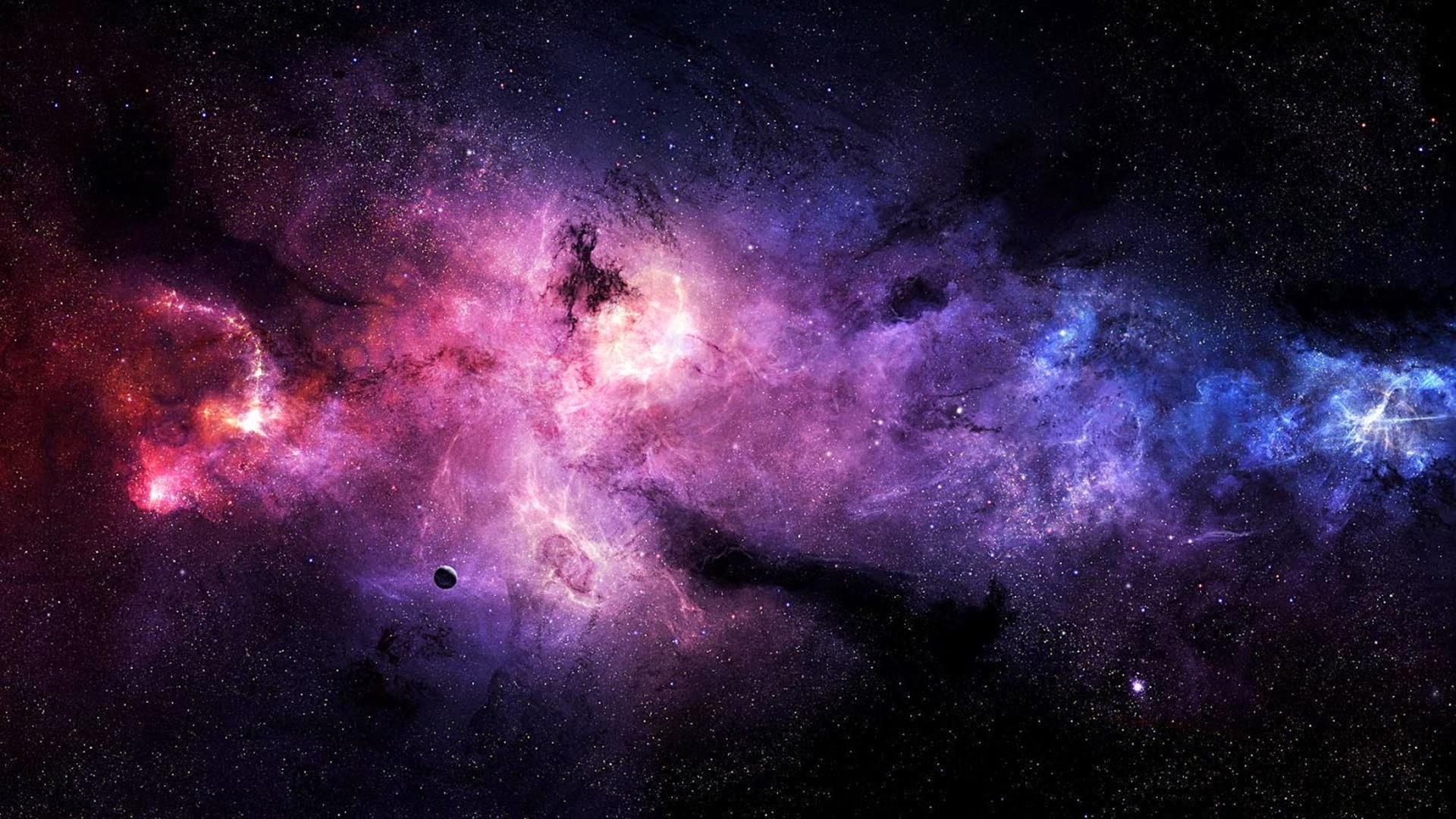 Dải ngân hà nhiều màu sắc
