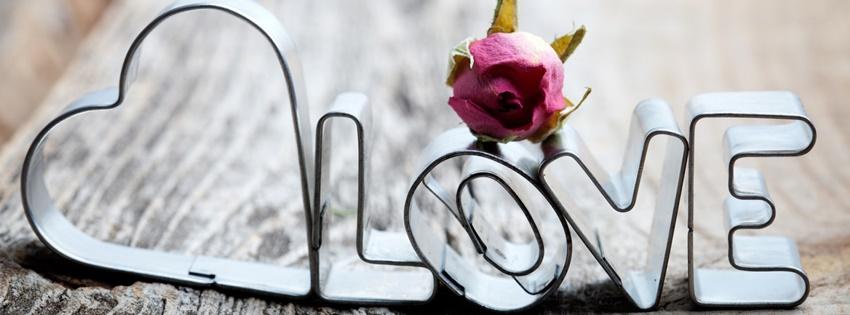 Chữ LOVE tuyệt đẹp để làm ảnh bìa