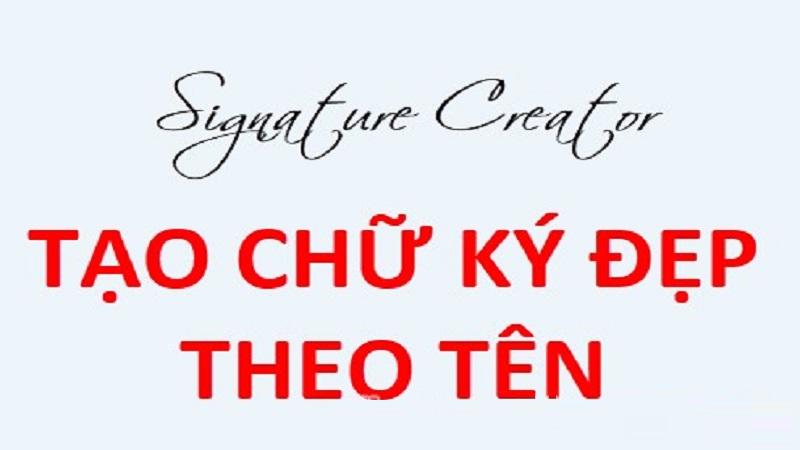 chu ky dep logo